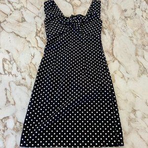 Revival Polka Dot Sleeveless Dress - Size 8